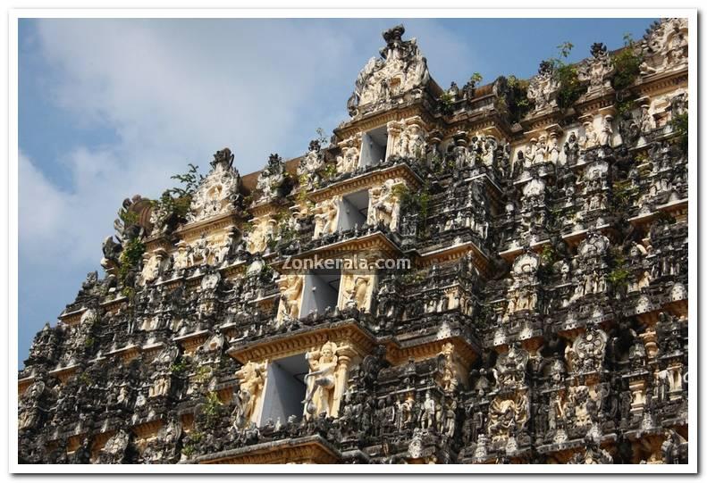Temple Gopuram photo
