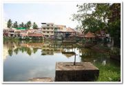 Padmanabhaswamy temple pond photo 1