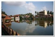 Padmanabhaswamy temple pond photo 2