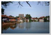 Padmanabhaswamy temple pond photo 3