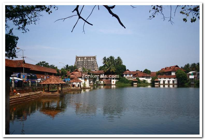 Padmanabhaswamy temple pond