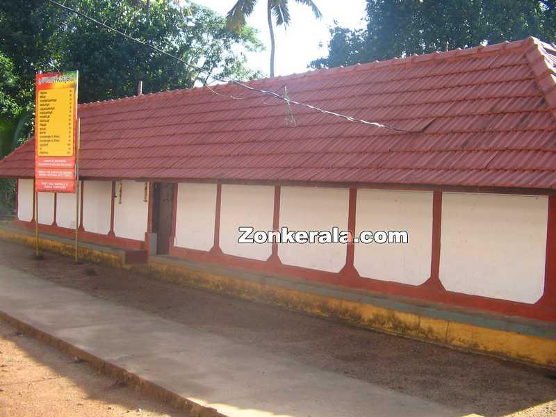 Panachikkad saraswathi temple compond