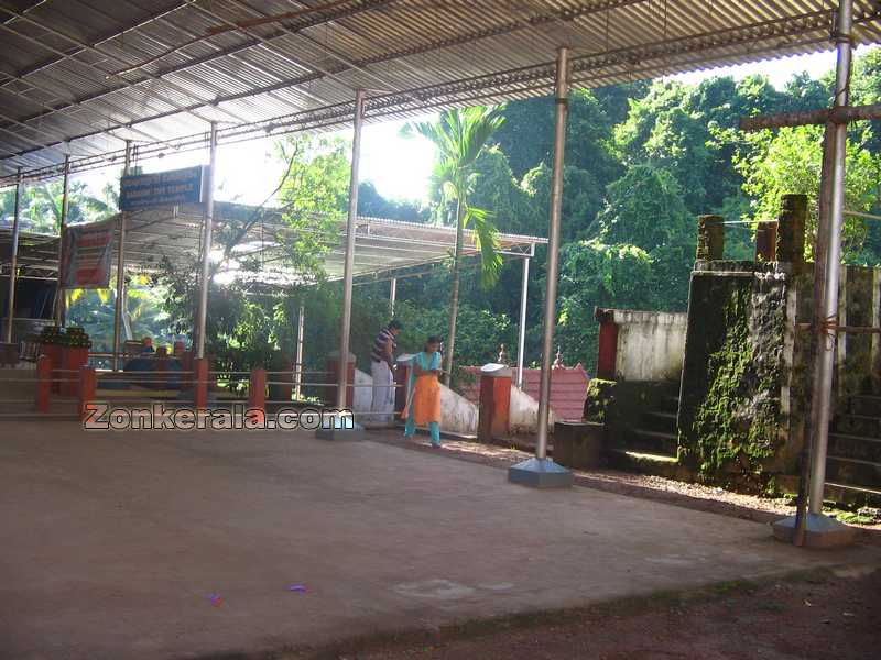 Saraswathi temple well