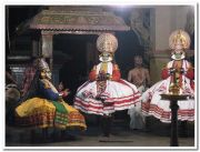 Kathakali in sreevallabha temple