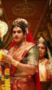 Prithviraj In Woman Attire In Kaaviyathalaivan Tamil Film 53