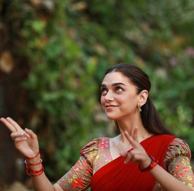 2020 Pics Aditi Rao Hydari Malayalam Movie Actress 5624