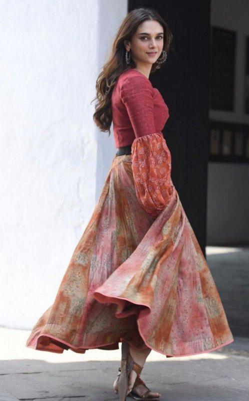 South Actress Aditi Rao Hydari New Album 7764