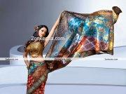 Actress Bhavana Photos In Saree 5