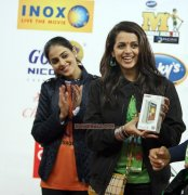 Bhavana And Genelia At Ccl 4 635