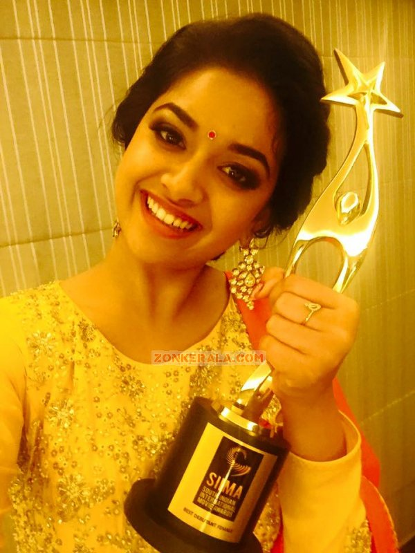 Keerthi Suresh Film Actress Jul 2016 Picture 9318
