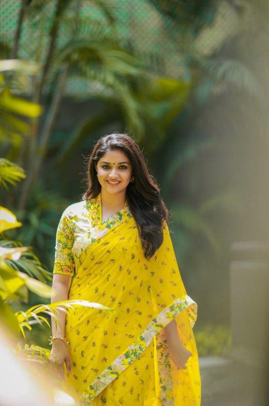 New Stills Indian Actress Keerthi Suresh 3372