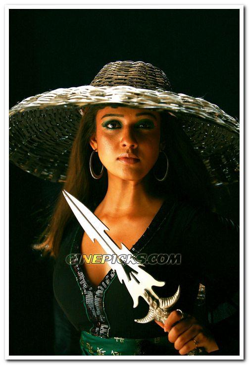 Nayanthara In Movie Sathyam