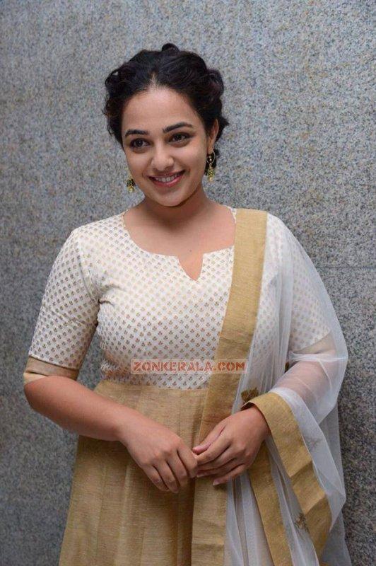 2017 Stills Cinema Actress Nithya Menon 4463