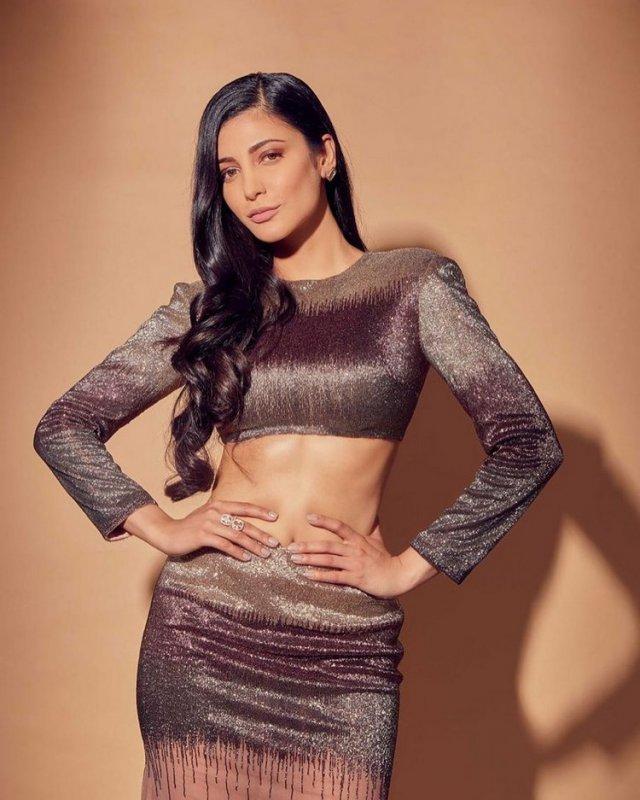 May 2020 Images Film Actress Shruthi Haasan 409