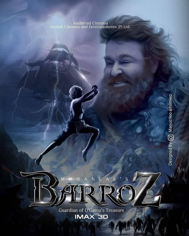 Mohanlal Film Barroz Poster 353