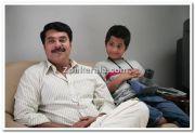 Mammootty And Master Dhananjay Photo 3