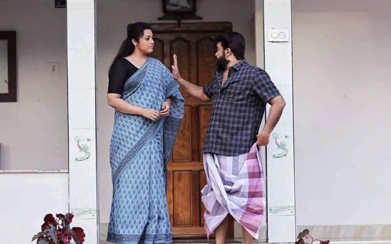Mohanlal And Meena In Drishyam 2 New Still 61