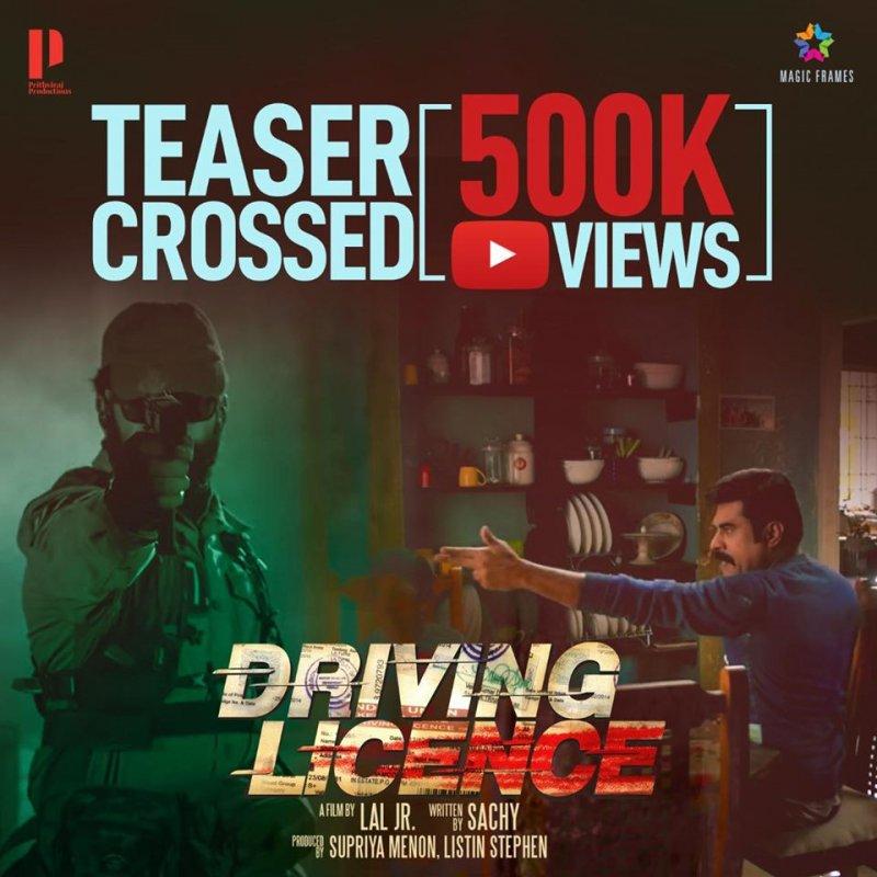 Malayalam Film Driving Licence 2019 Still 8080