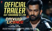 New Photo Prithviraj Movie Driving Licence Poster 113