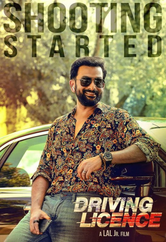 Prithviraj Film Driving Licence Shooting Started 723
