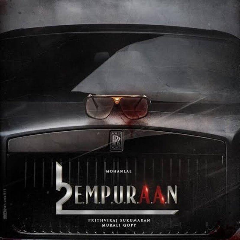 Empuraan Movie Poster 876