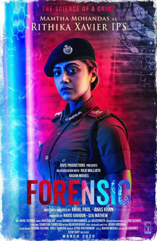 Mamtha Mohandas In Movie Forensic 460