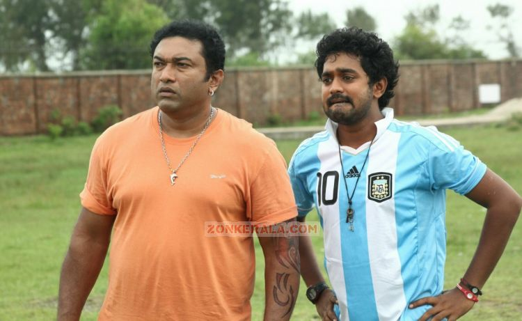 Baburaj And Asif Ali In Idiots 128