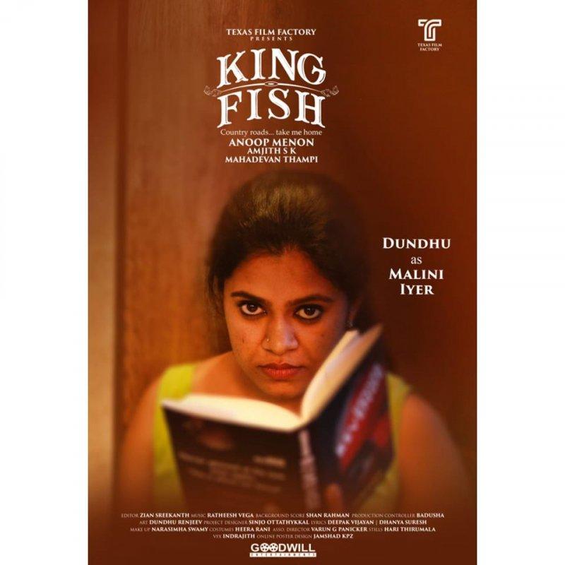 Dundhu As Malini Iyer In King Fish 561