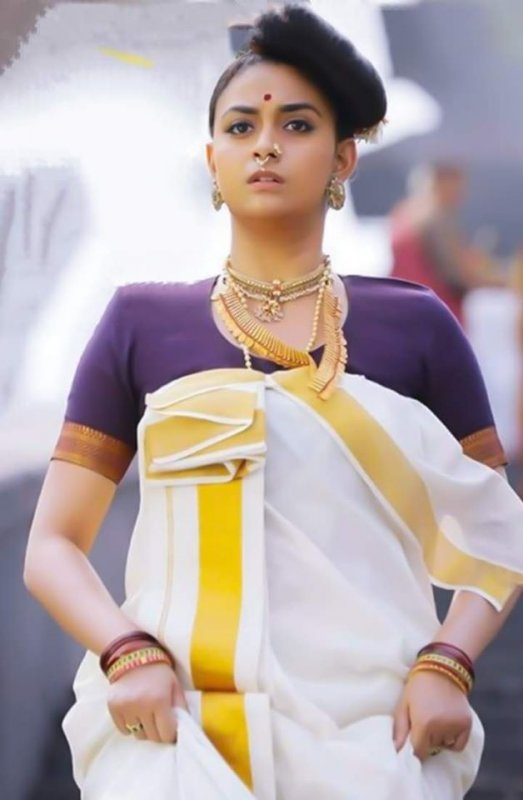 Keerthy Suresh Marakkar Arabikadalinte Simham Movie 163