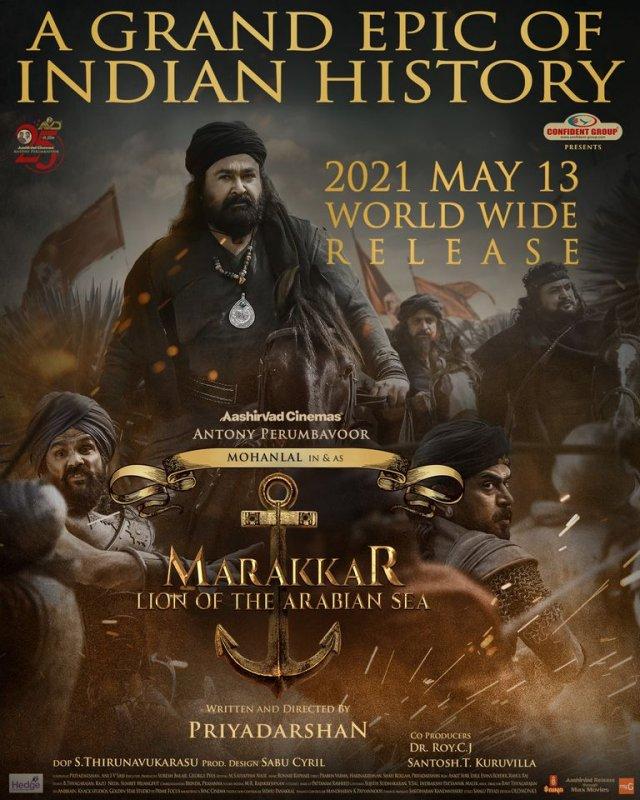 Malayalam Film Marakkar Arabikadalinte Simham Latest Picture 5951