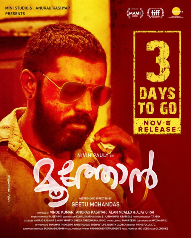 Nivin Pauly Movie Moothon Release In 3 Days 549