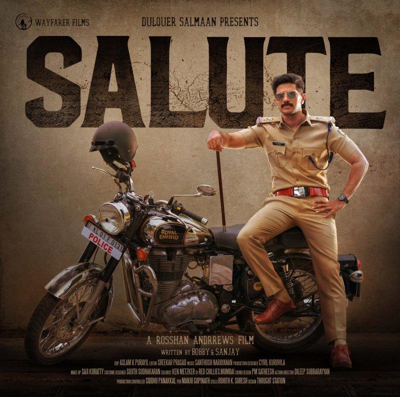 Dulquar Salmaan New Film Salute 940