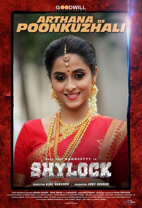 Arthana As Poonkuzhali In Movie Shylock 698