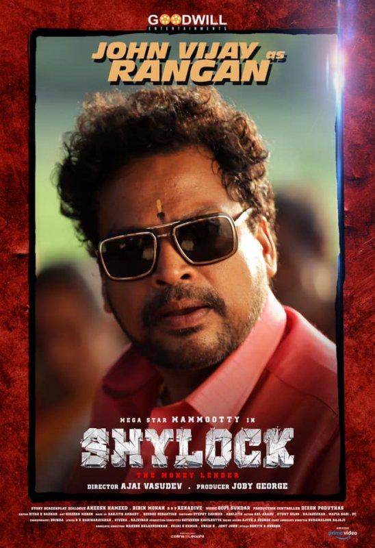 John Vijay As Rangan In Shylock 503