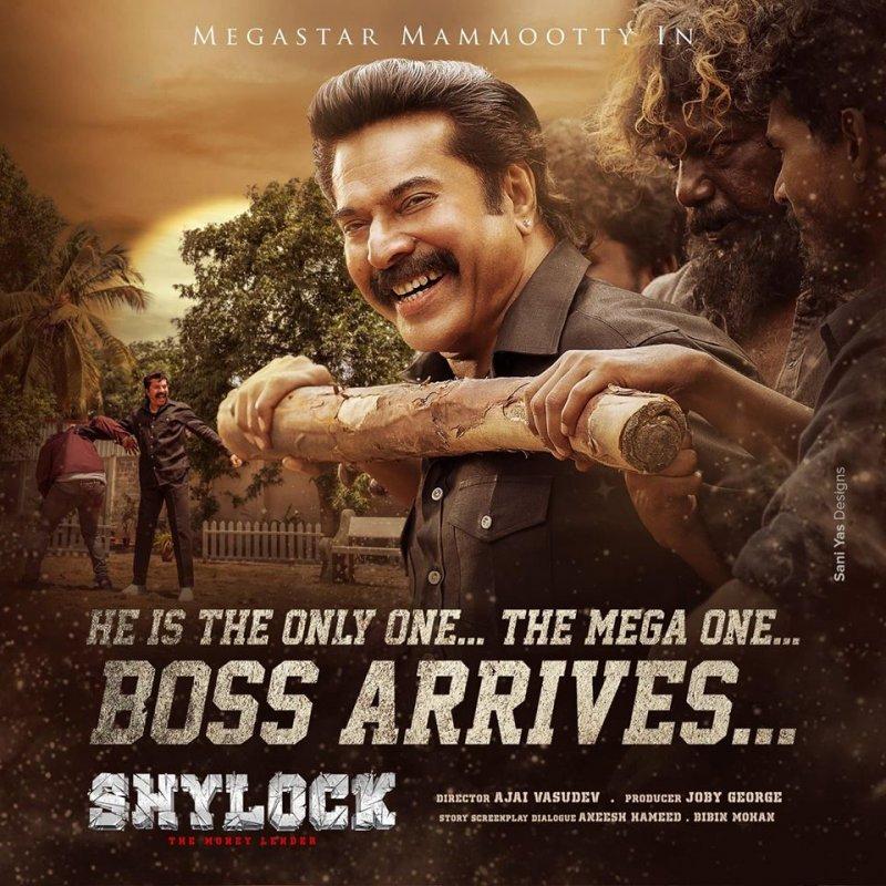 Latest Stills Malayalam Movie Shylock 5454