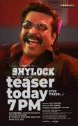 Mammootty Film Shylock Teaser Poster 980