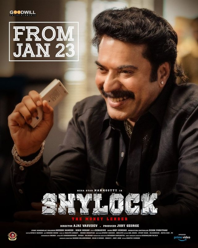 Mammootty Shylock From Jan 23 387