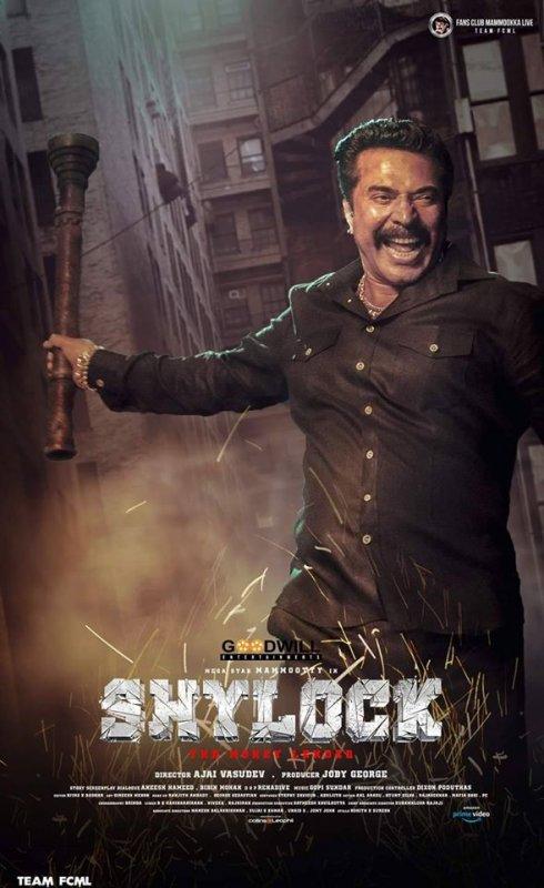 Mammootty Shylock Movie 524