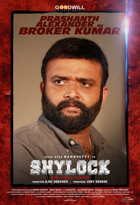 Prashanth Alaxander In Shylock Movie 244