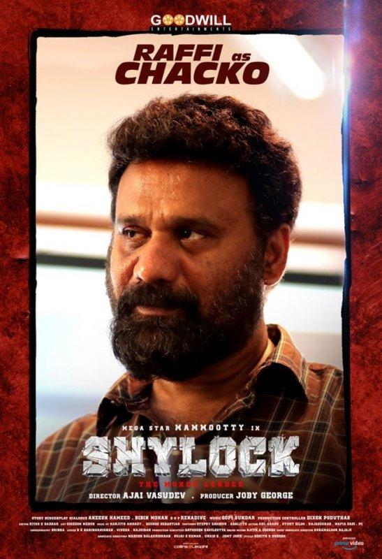 Raffi As Chacko In Movie Shylock 416
