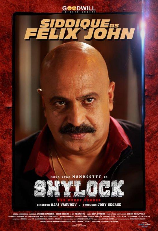 Siddique As Felix John In Movie Shylock 603