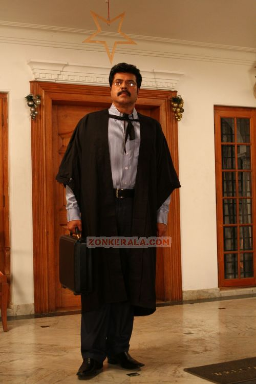 Mammootty In Thappana Movie 947