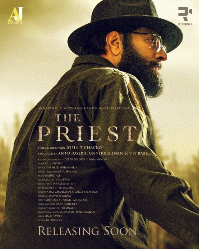 Mammootty Film The Priest Second Look Poster 123
