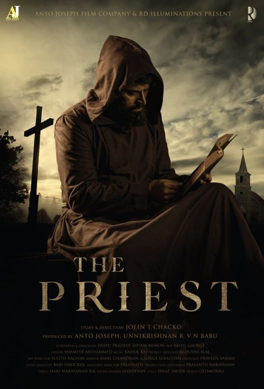 Mammootty New Movie The Priest First Look Poster 824