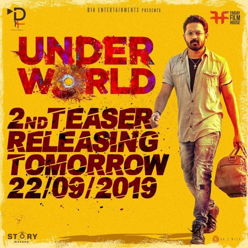Asif Ali Under World 2nd Teaser Release Poster 391