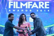 Jayasurya Receiving 62 Filmfare Award 211