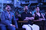Mammootty Kamalhaasan Shruthi At 62 Filmfare Awards 451