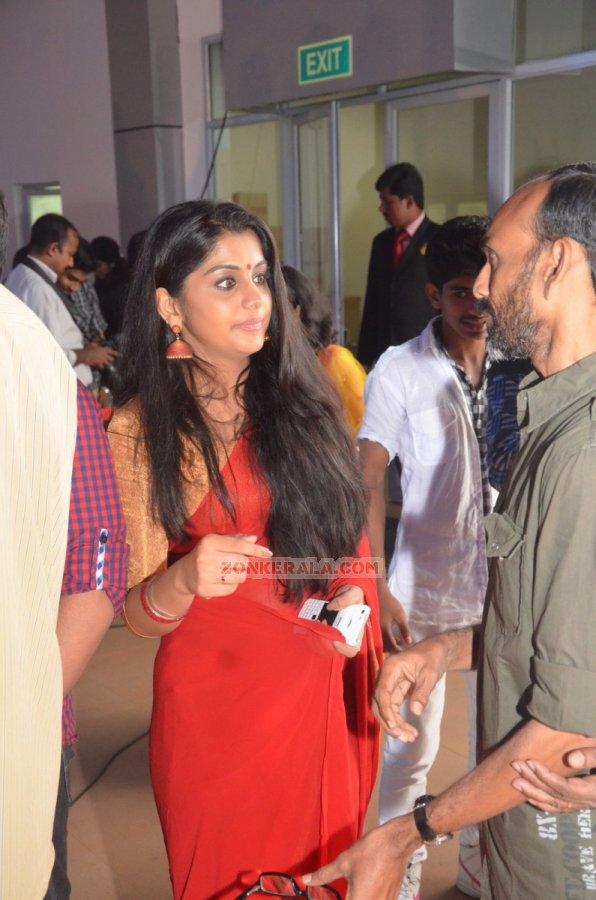 Poornima Indrajith 382 Malayalam Movie Event Asif Ali Reception Photos