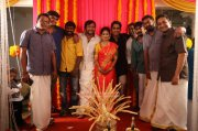 Latest Photo Bobby Simha Reshmi Menon Engagement Function 6694