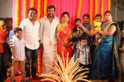 Latest Pictures Bobby Simha Reshmi Menon Engagement Malayalam Movie Event 4375